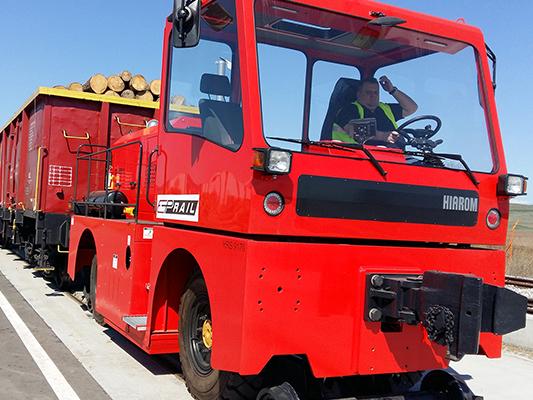 Locotractorul HRS 9170